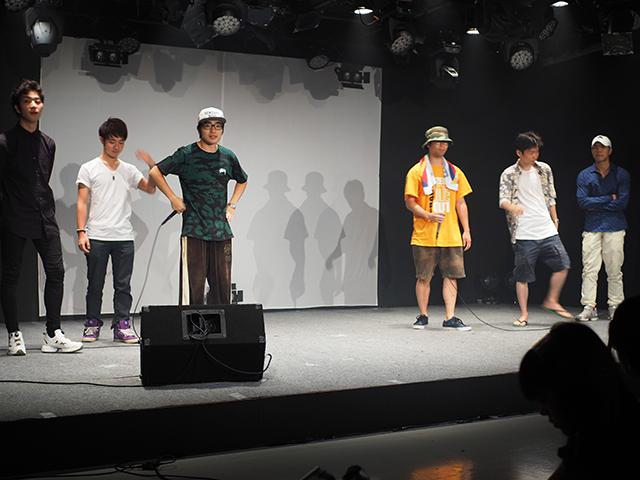 このイベントの主役でもある早稲田大学・慶応大学サイファーが登場!