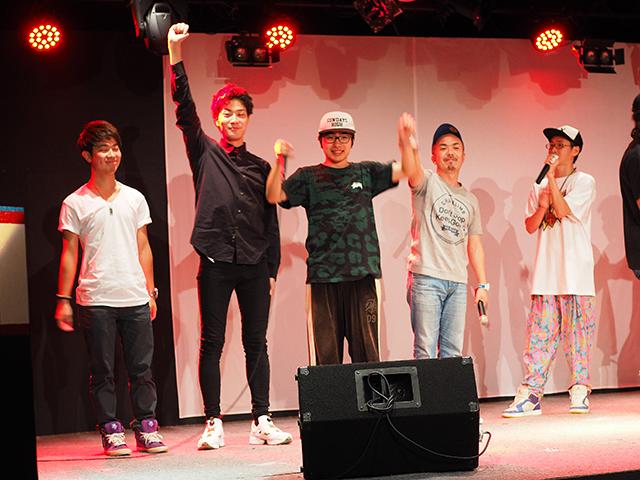 勝利チームは早稲田大学サイファー!