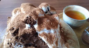 梅島で味わう新感覚スイーツ!!ラヴィアンレーヴの『まるでケーキなかき氷』サムネイル