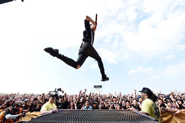 (C)RISING SUN ROCK FESTIVAL 撮影:釘野孝宏