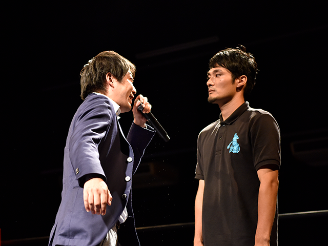 福祉団体代表理事 中心坊 a.k.a センターポール vs 前回準優勝のMC KAWATAKU!