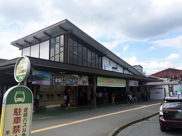 池袋からは特急を使って1時間18分。無事に西武秩父駅に到着。