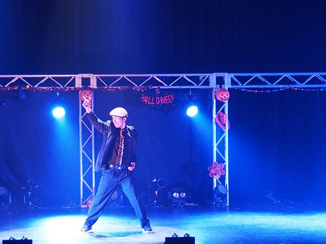 KATSU館長のダンスにはしびれました。