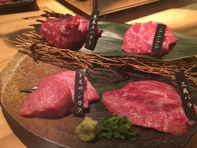 沖縄肉。霜降りでとても美味しい牛肉です。