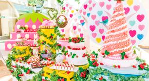 ヒルトン東京ベイ「ゆめかわ」な苺畑でおとぎ話のヒロインになる デザートブッフェ1月13日から開催サムネイル