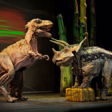 夏休みに、触って・見て・学べる恐竜ショー 「恐竜どうぶつ園」日本ツアーが国内19都市で開催!サムネイル