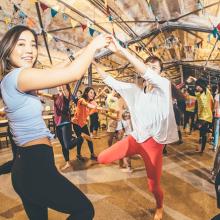 朝6時半開始!通勤通学前に踊る健康すぎるフェス 早朝フェス®SHIBUYA2018 開催決定サムネイル