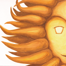 hanemushi × カワタツ美術館 共作 絵本「太陽」作品展 / 2020年1月25日(土)開催サムネイル