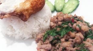 自由が丘でグリーンカレーやガパオが美味しいタイ料理屋 クルア・ナムプリックサムネイル