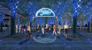 11月7日(土)には1966カルテットを迎えた点灯式開催! 「たまアリ△タウン けやきひろばイルミネーション 2020-21」サムネイル