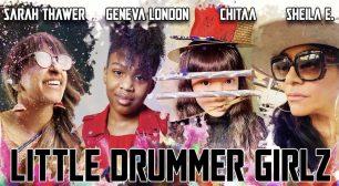 """「シーラ・E(Sheila E.)」の新プロジェクト """"LITTLE DRUMMER GIRLZ""""に 11歳の日本人少女ドラマー「CHITAA」が 参加したミュージックビデオが公開サムネイル"""