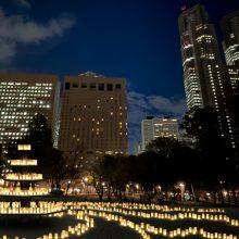 3,000個の灯で彩る キャンドルナイト@新宿中央公園  2020年12月25日・26日開催サムネイル